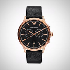 Emporio Armani AR1792 Rose Gold Case Men's Chronograph Watch