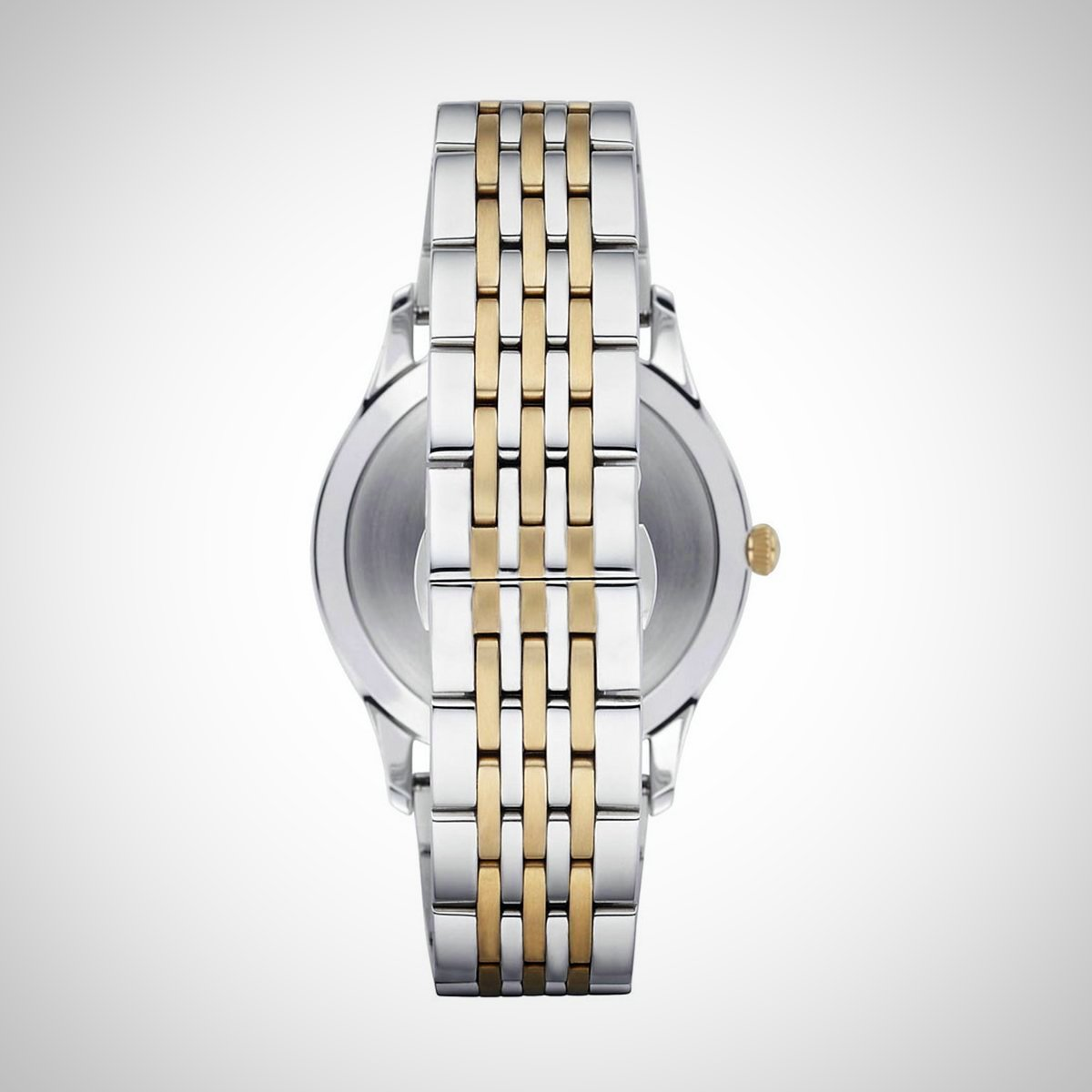Emporio Armani AR1868 Men's Classic Two-Tone Watch
