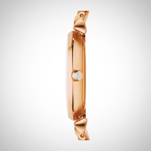 Emporio Armani AR1909 Gianni Ladies Rose Gold Watch