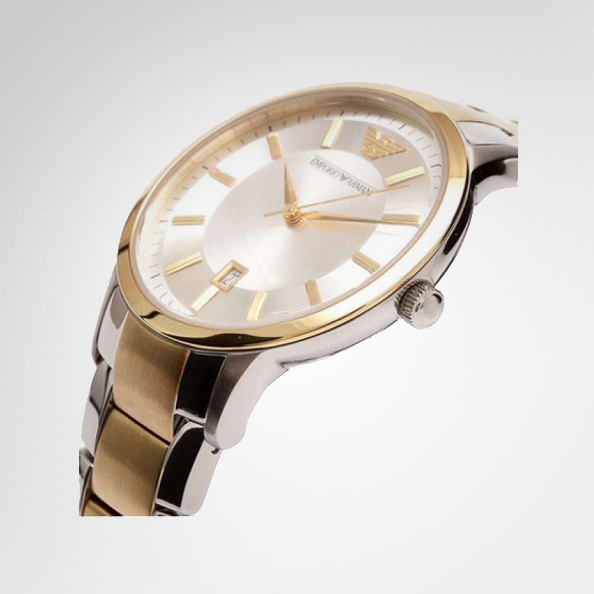 Emporio Armani AR2450 Ladies Two-Tone Quartz Watch