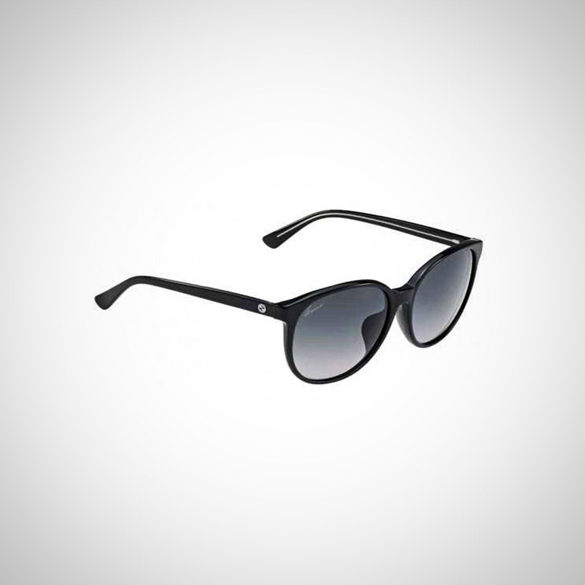 Gucci 3733/F/S Y6C HD Ladies Black Frame Sunglasses