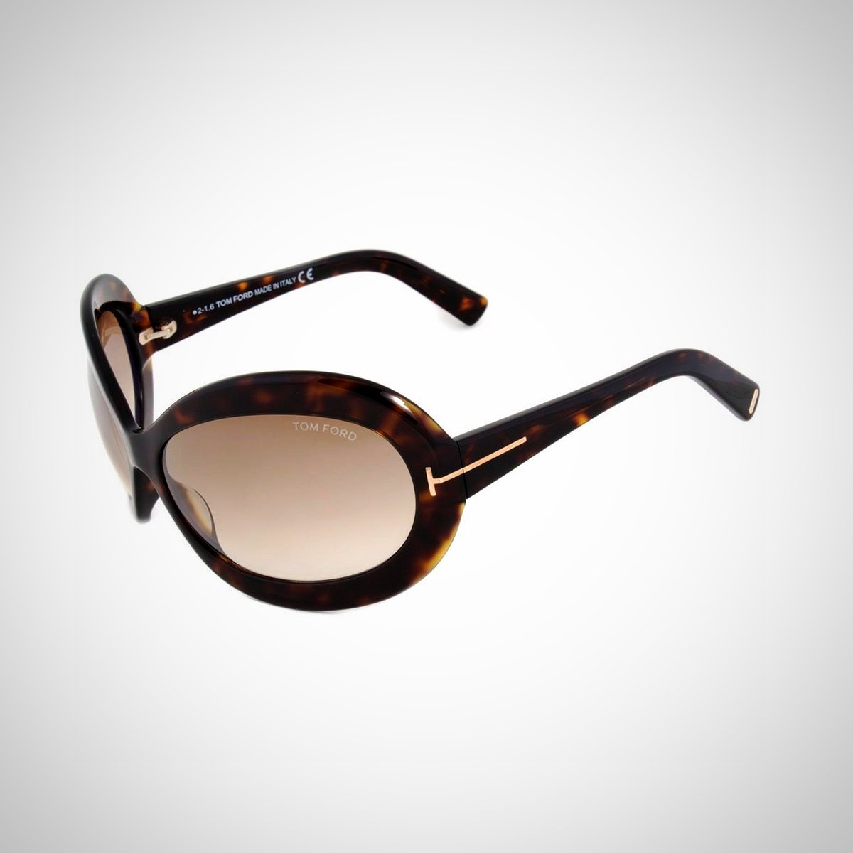 Tom Ford FT0428 52F 68 Ladies Dark Havana Sunglasses