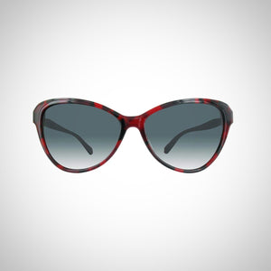Balmain BL2054A-02-57 Ladies Red & Black Marbled Sunglasses