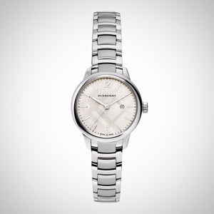 Burberry BU10108 Ladies' The Classic Round Watch