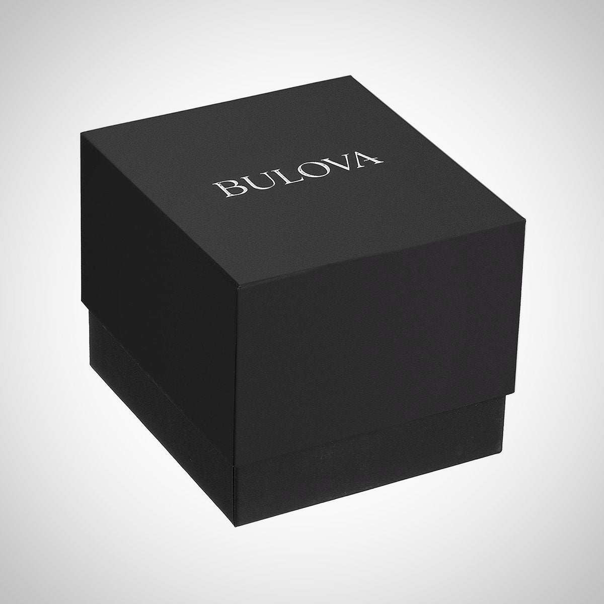 Bulova 98B260 Sport Men's Black Silicone Strap Quartz Watch