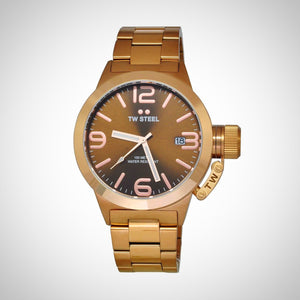 TW Steel CB191 Canteen Mens Brown Dial Watch