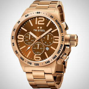TW Steel CB193 Canteen Mens Chronograph Brown Watch