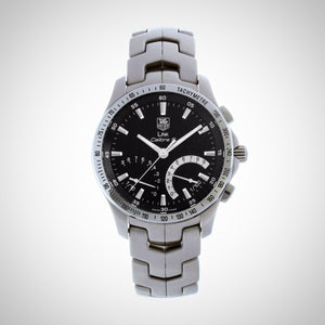 Tag Heuer CJF7110.BA0592 Link Calibre S Men's Automatic Chronograph Stainless Steel Watch
