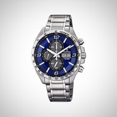 Festina F6861/3 Chronograph Quartz Blue Dial Stainless Steel Mens Watch
