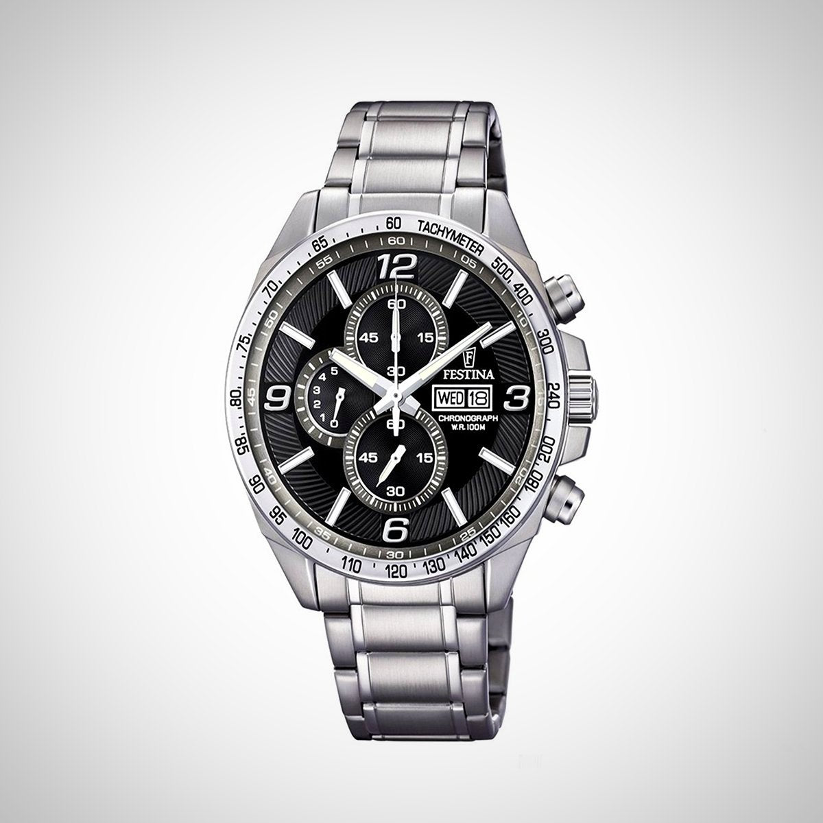 Festina F6861/4 Mens Stainless Steel Chronograph Watch