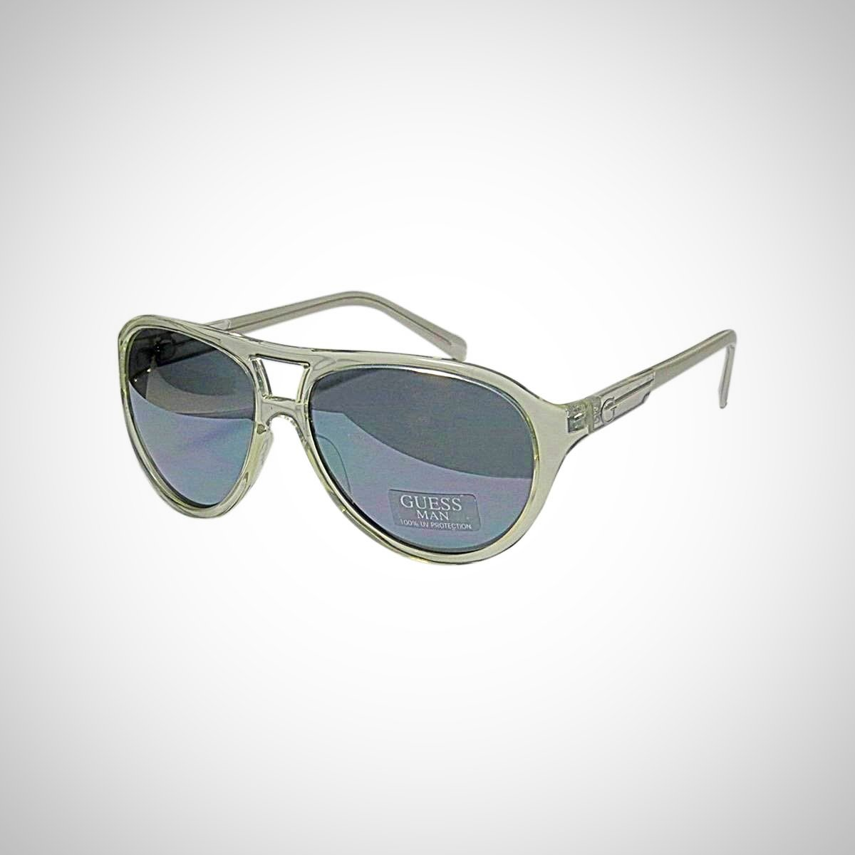 Guess GU6708 CRY-3 Men's Transparent Sunglasses