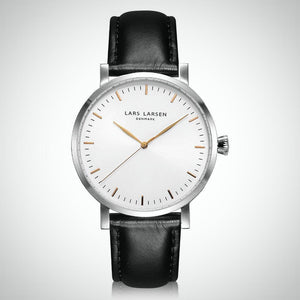 Lars Larsen 143SWBLL Men's Stainless Steel Watch