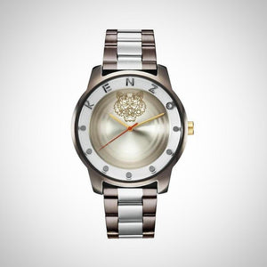 Kenzo K0054008 Men's Silver Dial Watch