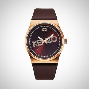 Kenzo KZ9600310 Ladies Brown Leather Watch