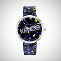Kenzo KZ9600503 Ladies Black Strap Watch