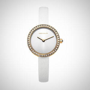 Karen Millen Ladies' PVD Rose Plated Case 25 mm Watch - KM146WRG