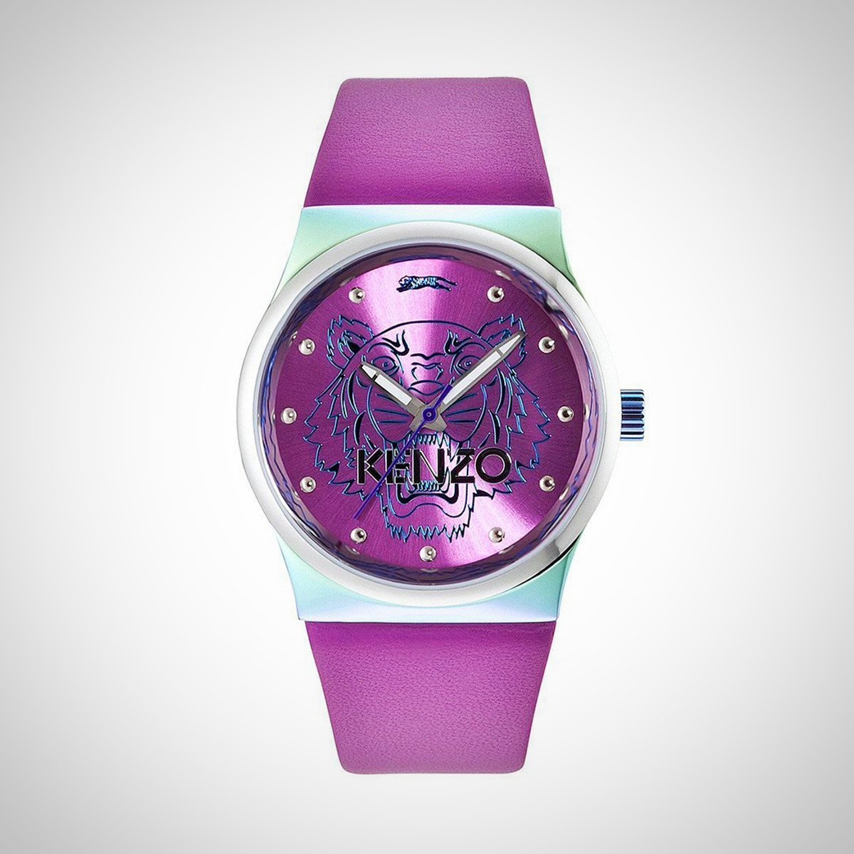 Kenzo KZ0022006 Ladies Pink Leather Strap Watch