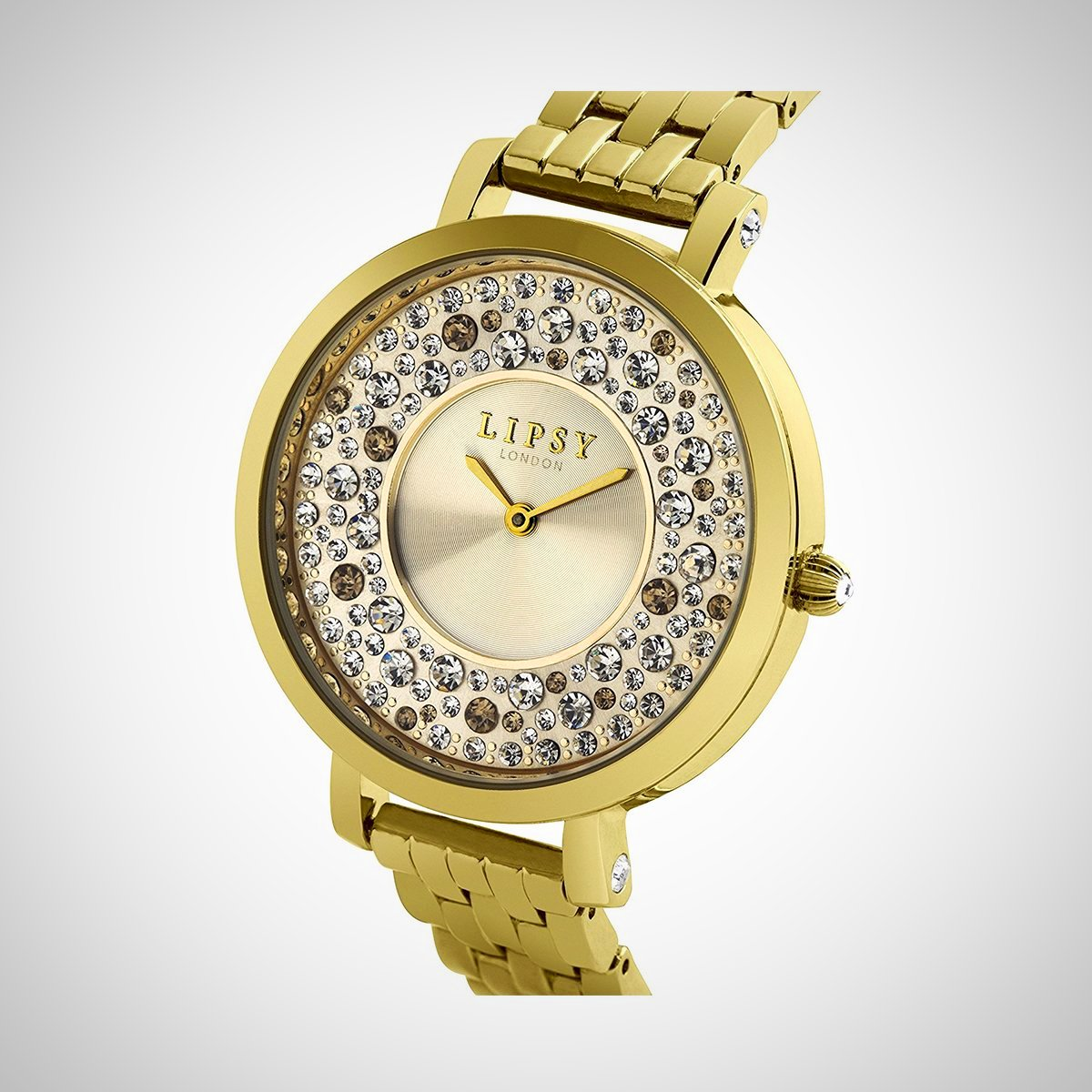 Lipsy LP397 Ladies PVD Gold Plated Stainless Steel Watch