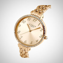 Lipsy LP405 Ladies Rose Gold Tone Stainless Steel Watch