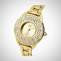 Lipsy LP443 Ladies Gold Stainless Steel Quartz Watch