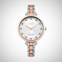 Lipsy LP484 Ladies Two Tone Stainless Steel Quartz Watch
