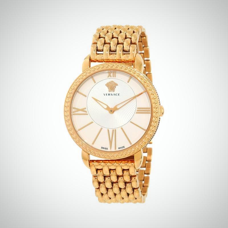Versace M6Q80D002S080 Krios Rose IP Ladies Watch
