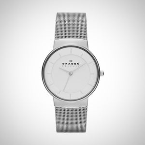 Skagen SKW2075 Women's 32mm Silver Steel Strap & Case Mineral Watch