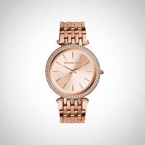 Michael Kors MK3192 Darci PVD Rose Gold Ladies Watch