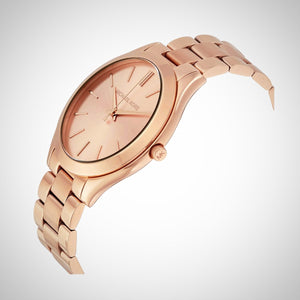 Michael Kors MK3197 Slim Runway Ladies' Rose Gold Quartz Watch