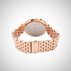 Michael Kors MK3220 Ladies Rose Gold Case and Strap Watch