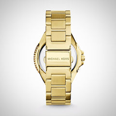 Michael Kors MK3277 Glitz Camille Ladies' Gold-Tone 33 mm Quartz Watch