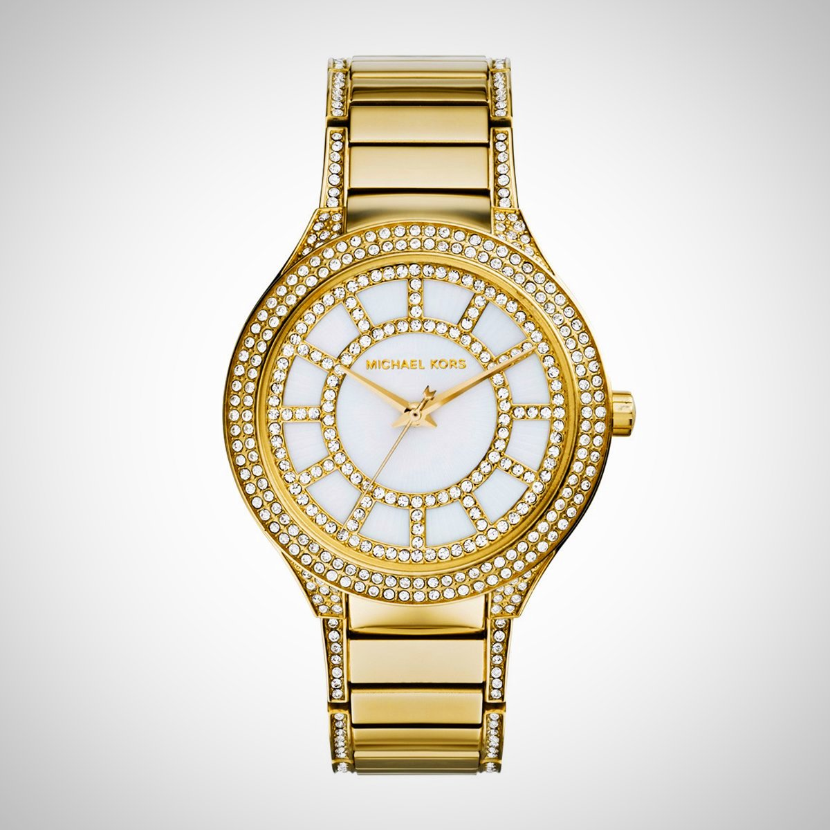 Michael Kors MK3312 Kerry Mother of Pearl Dial Gold-tone Ladies Watch