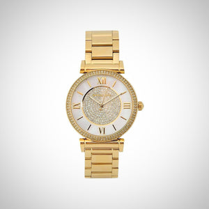 Michael Kors MK3332 Catlin Ladies Gold-Plated Watch