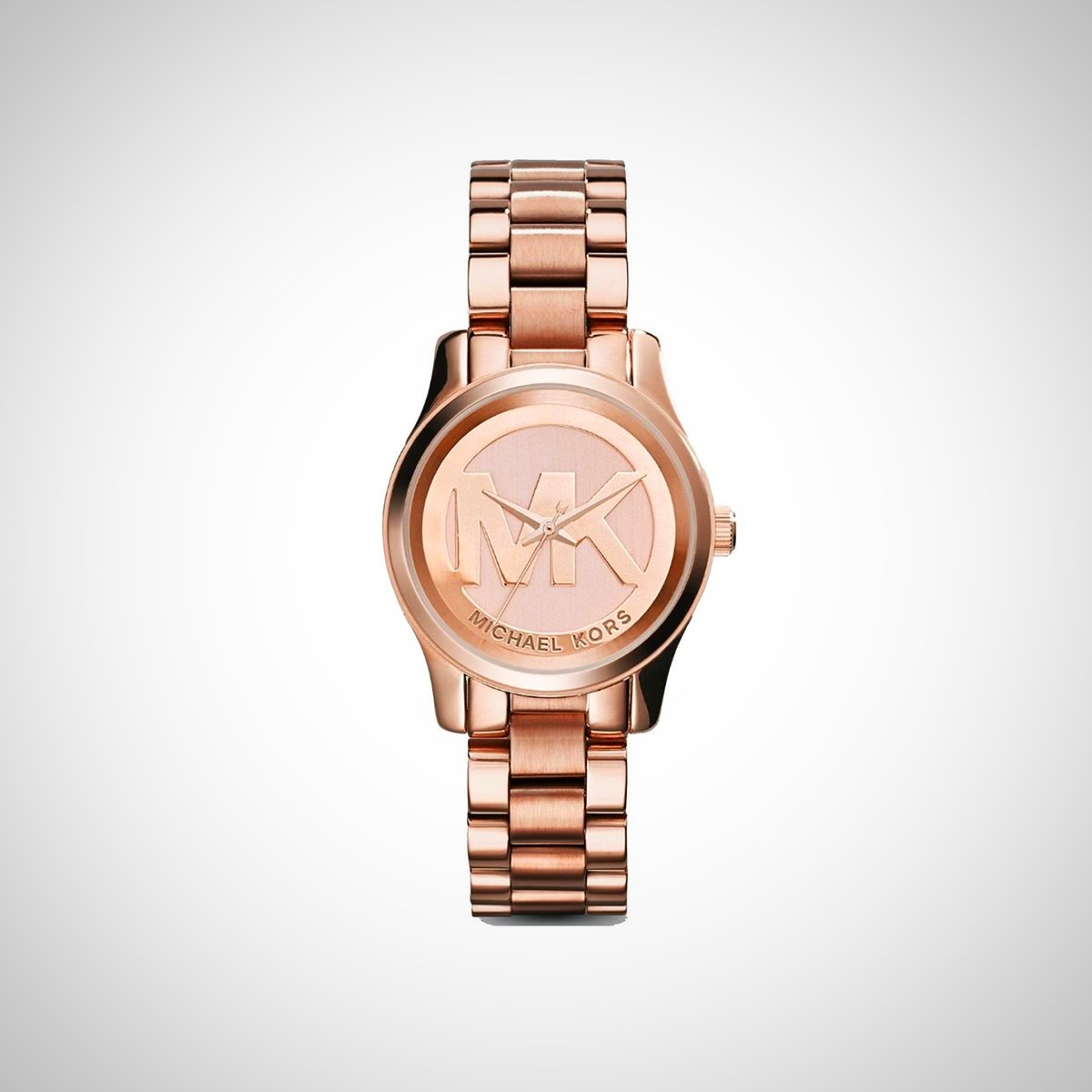 Michael Kors MK3334 Mini Runway Rose Gold Ladies Watch