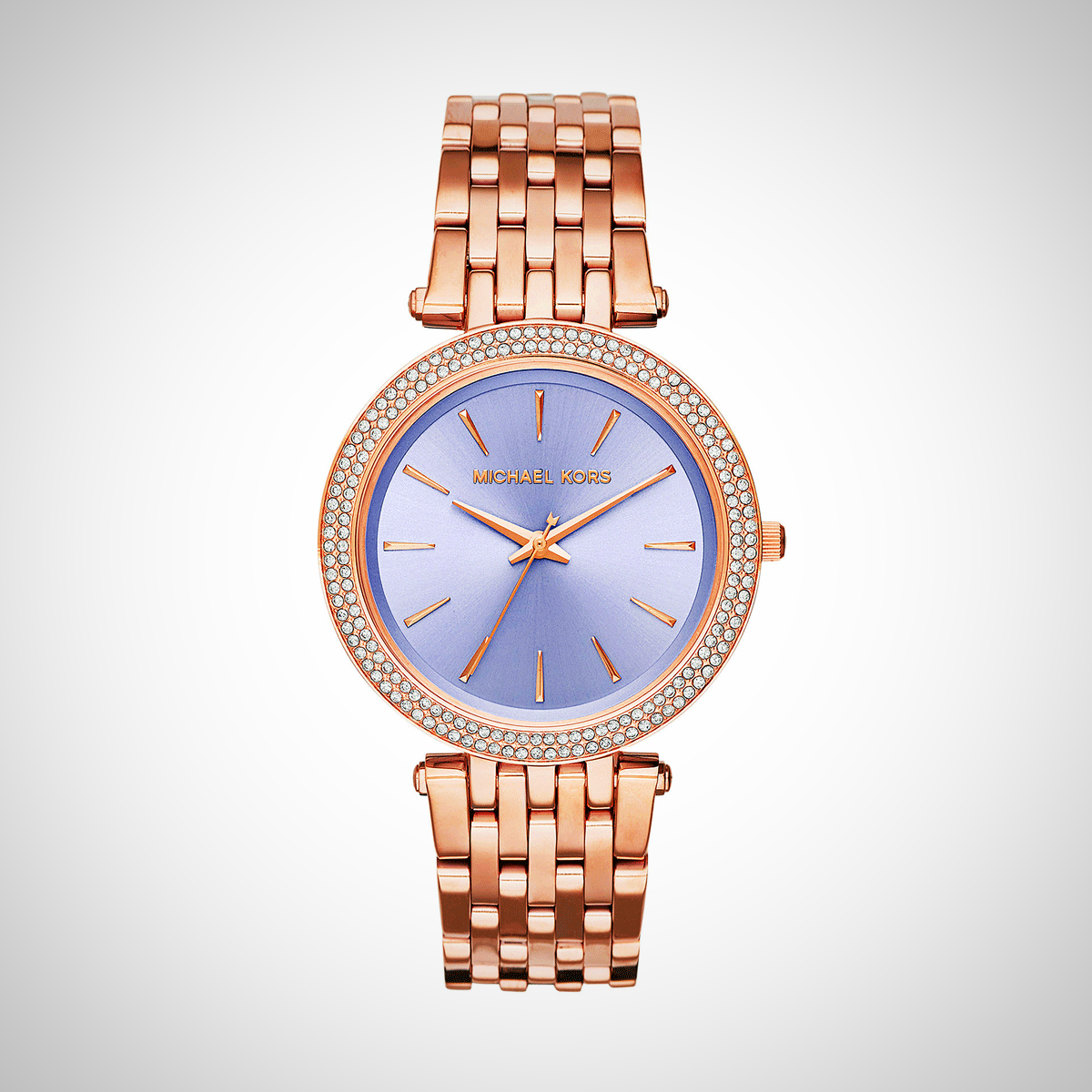 Michael Kors MK3400 Ladies Darci Rose Gold Watch