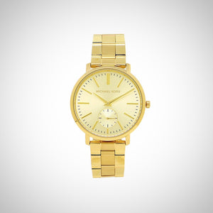 Michael Kors MK3500 Jaryn Gold-Tone Stainless Steel Ladies Watch