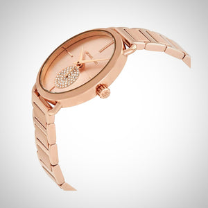Michael Kors MK3640 Portia Ladies Rose Gold Tone Watch