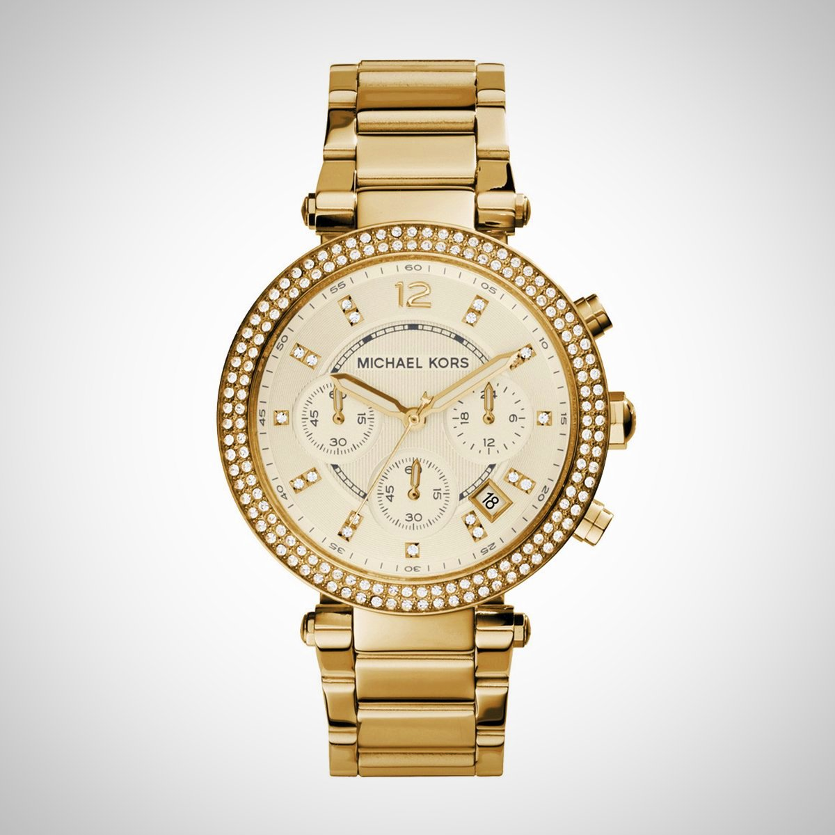 Michael Kors MK5354 Parker Ladies Chronograph Watch