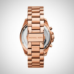Michael Kors MK5503 Bradshaw PVD Rose Gold Chronograph Women's Watch