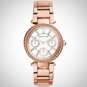 Michael Kors MK5616 Mini Parker Rose Gold Womens Quartz Watch