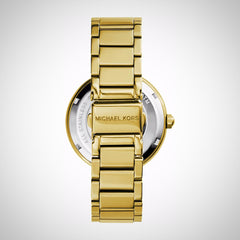 Michael Kors MK5784 Ladies Parker Glitz PVD Gold Plated Watch