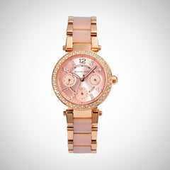 Michael Kors MK6110 Mini Parker Women's PVD Rose Watch