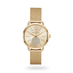 Michal Kors MK3844 Ladies Portia Gold Tone Watch