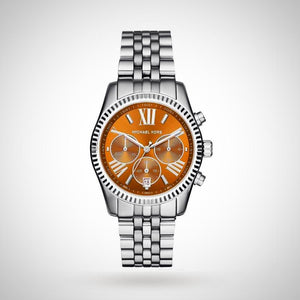 Michael Kors MK6221 Ladies Lexington Brown Chronograph Watch