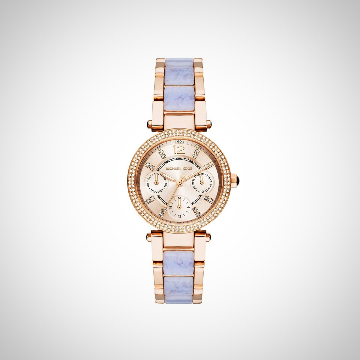 Michael Kors MK6327 Ladies Mini Parker Rose Gold Watch