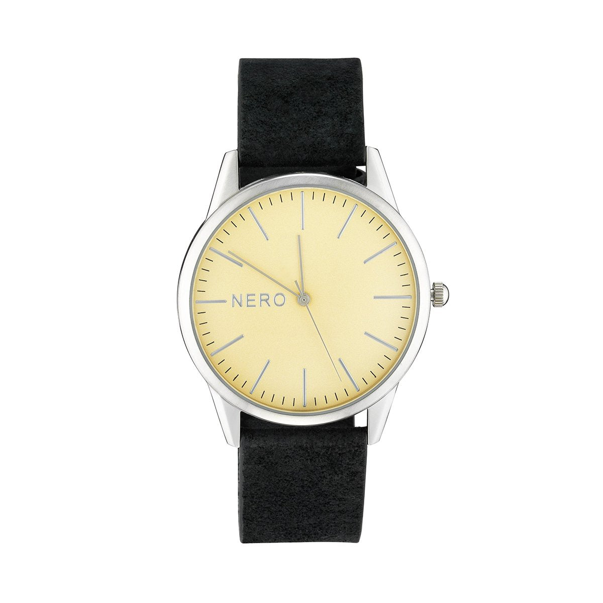 Nero Steel 118 Hewley Black Ladies Leather Watch