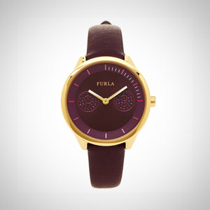 Furla R4251102516 Metropolis Ladies Purple Dial Watch
