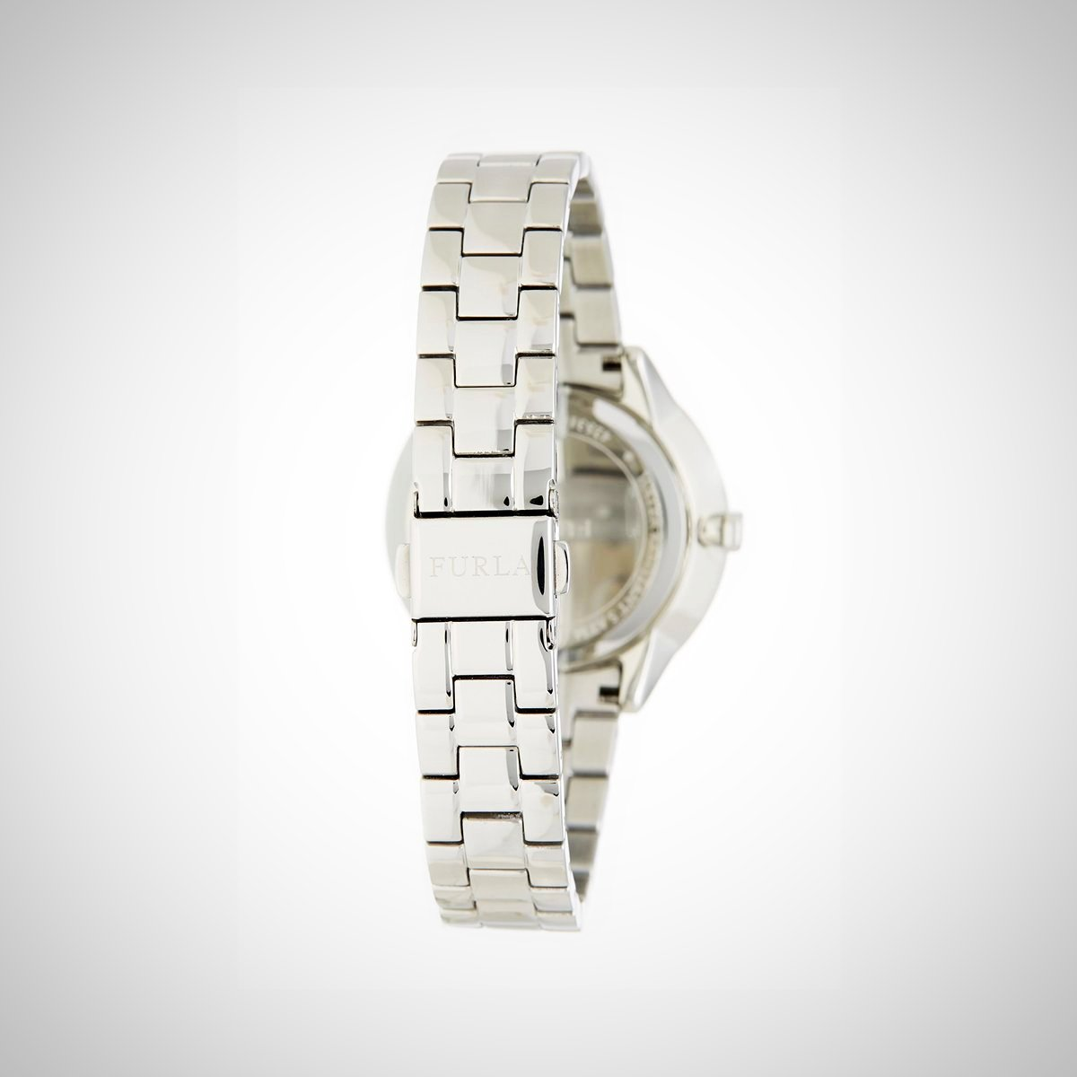 Furla R4253102505 Metropolis Ladies Silver Tone Stainless Steel Watch