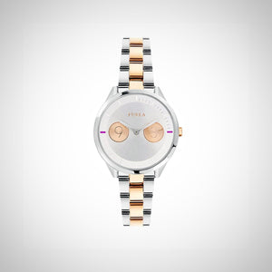 Furla R4253102507 Ladies Two Tone Stainless Steel watch