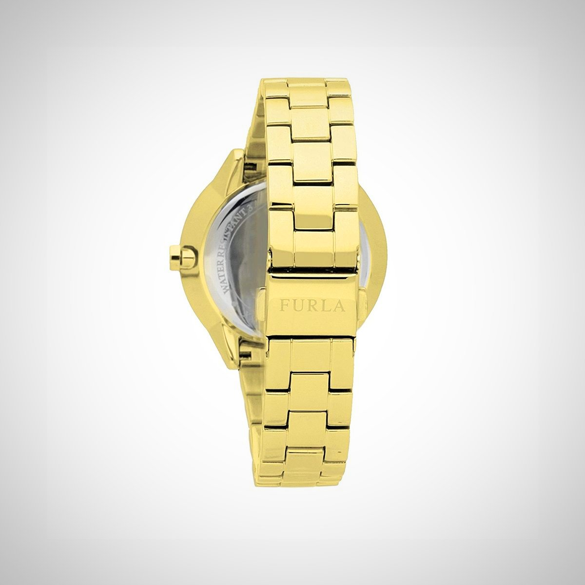 Furla R4253102508 Metropolis Ladies PVD Gold Plated Watch